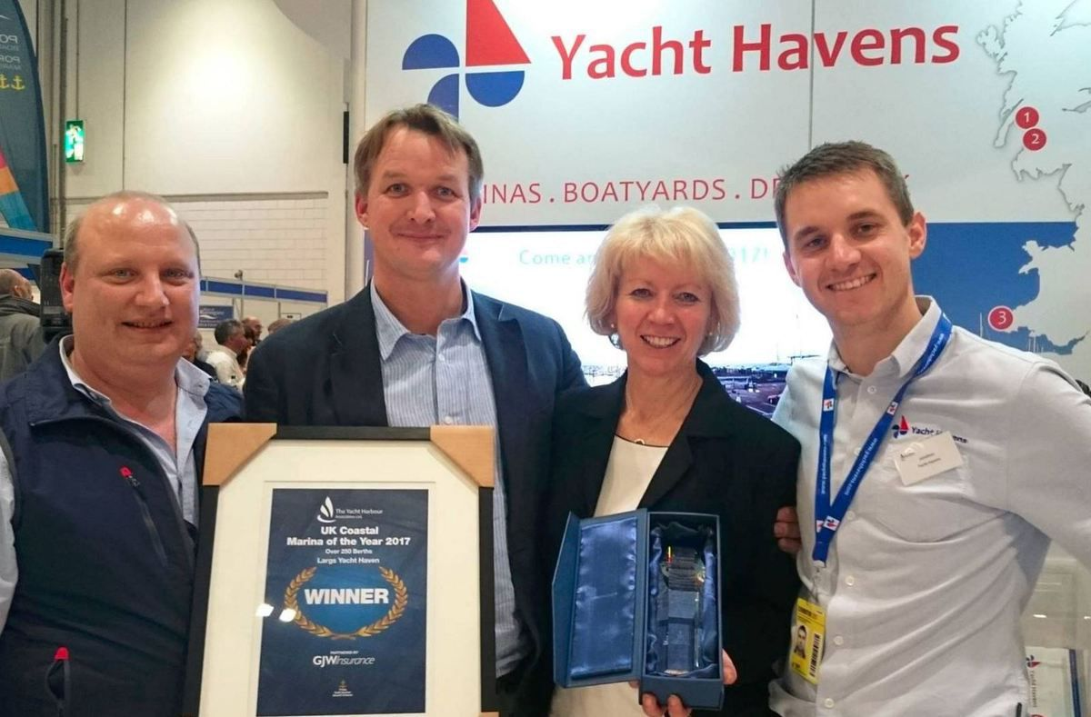 London Boat Show - and the 2017 UK Coastal Marina of the Year is...