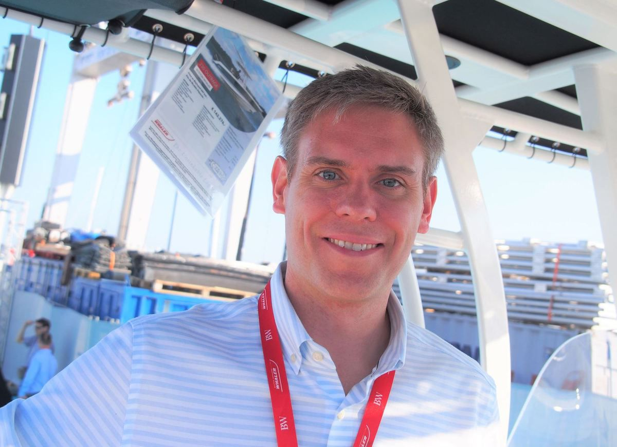 Interview Cannes Yachting Festival - Nick Stickler, CEO of Boston Whaler