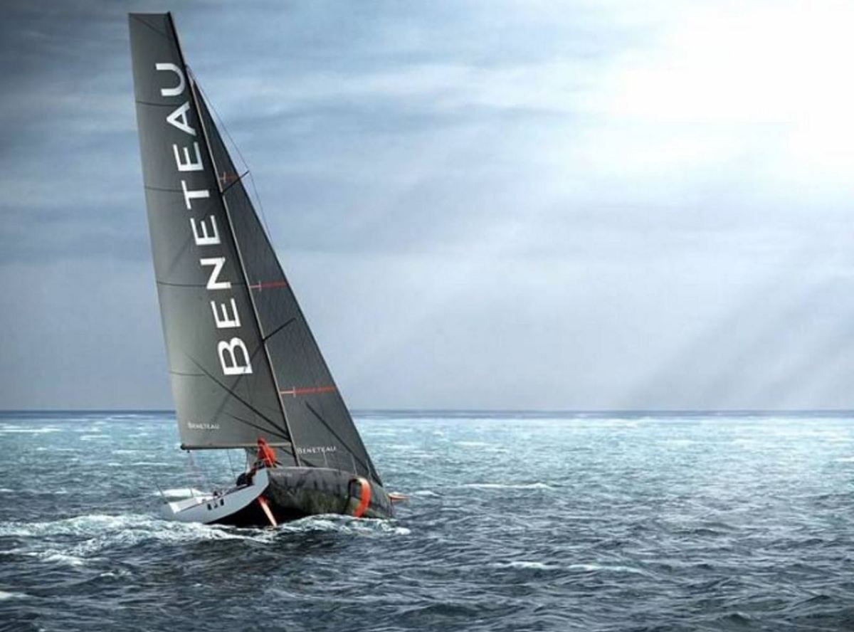 Bénéteau Unveils First Series Monohull with Foils