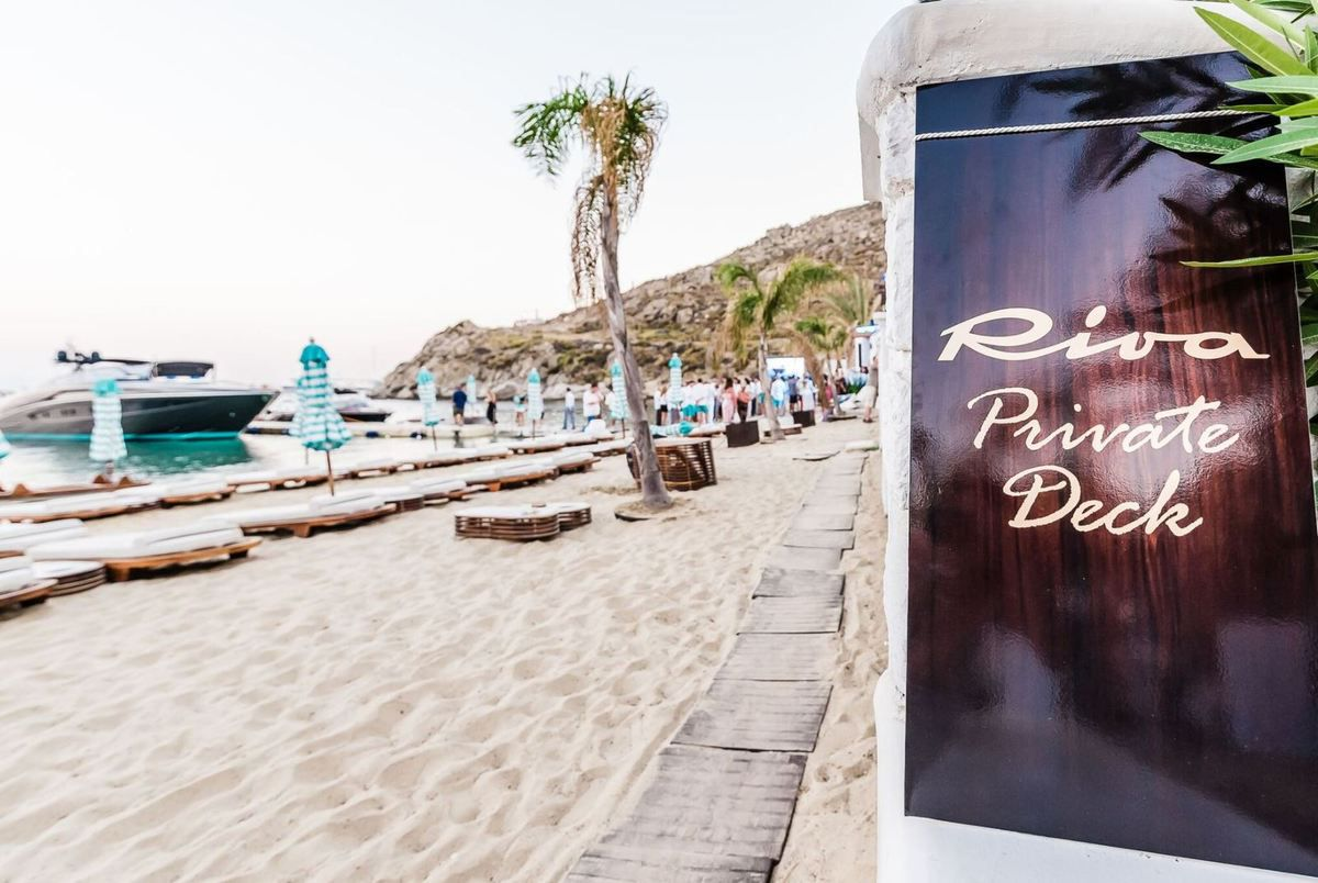 Riva Private Deck 2017 opens in Mykonos at Nammos beach club