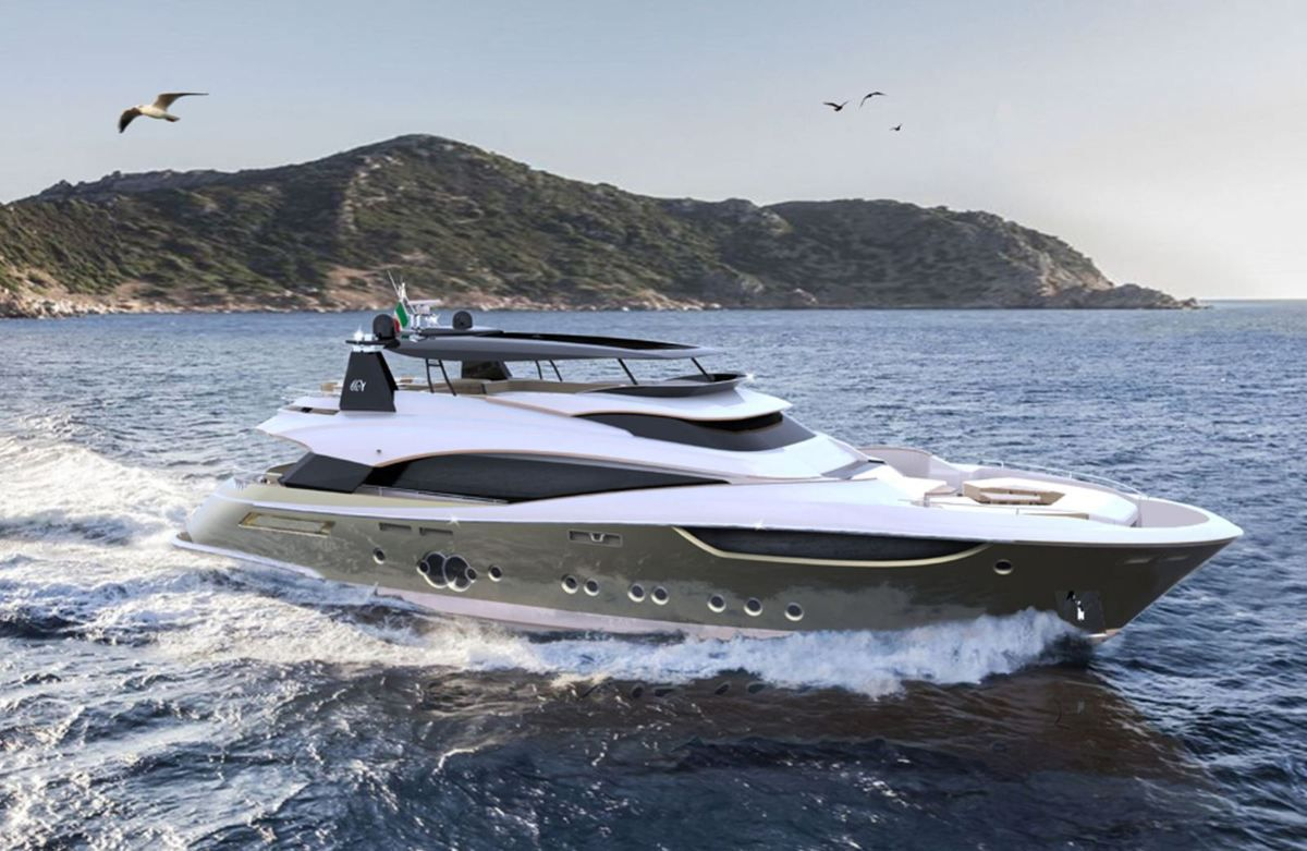 A Monte Carlo Yachts MCY 105