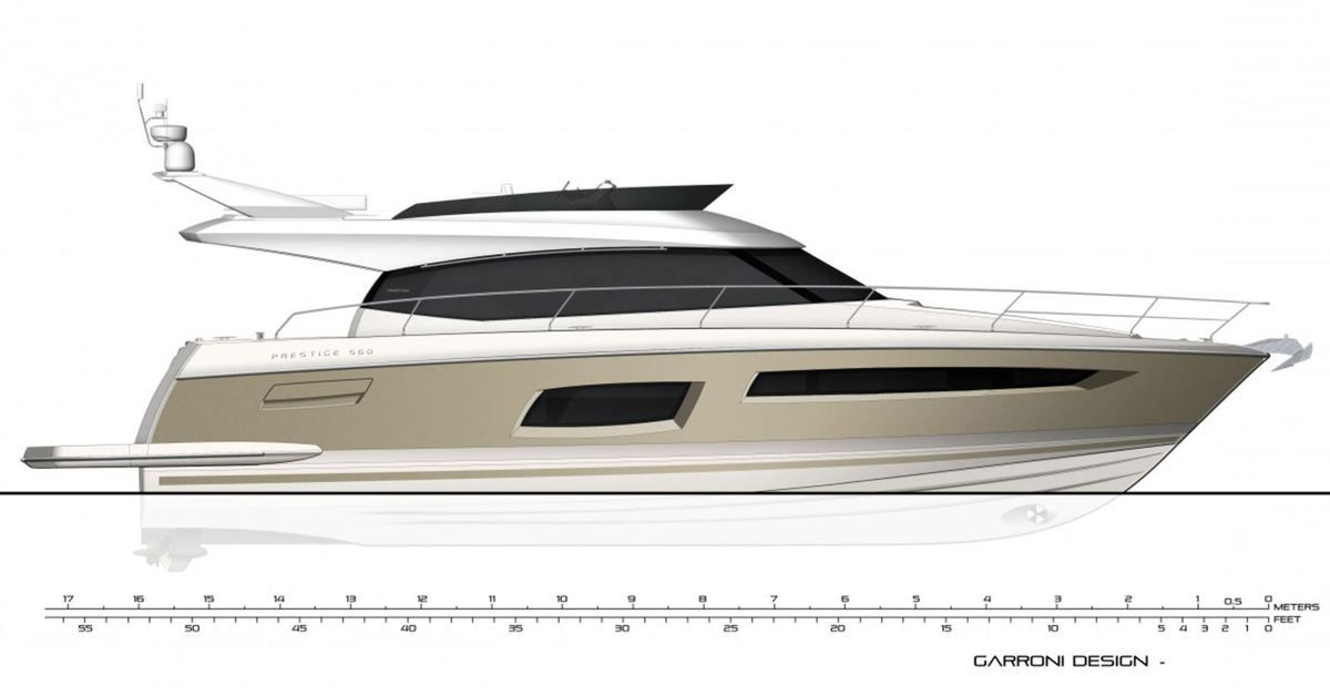 Prestige 560: a design by Garroni