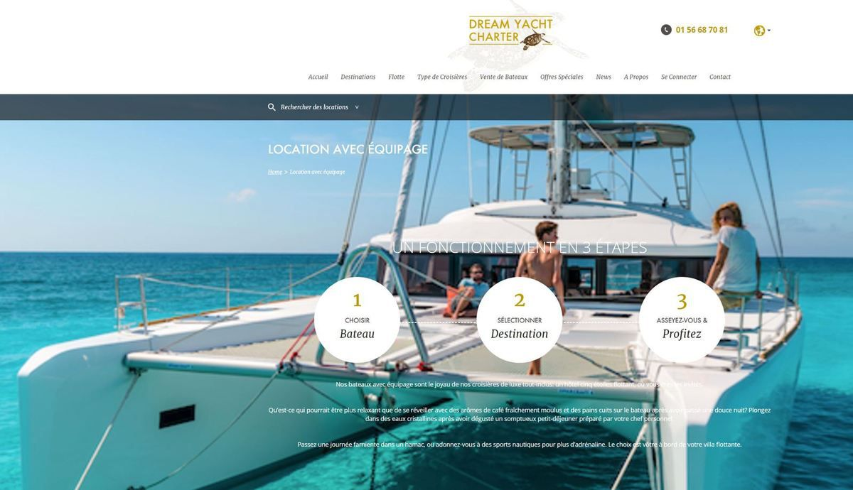 Boating - Nextstage and Fountaine-Pajot Take Control of the Boat Rental Company Dream Yacht Charter