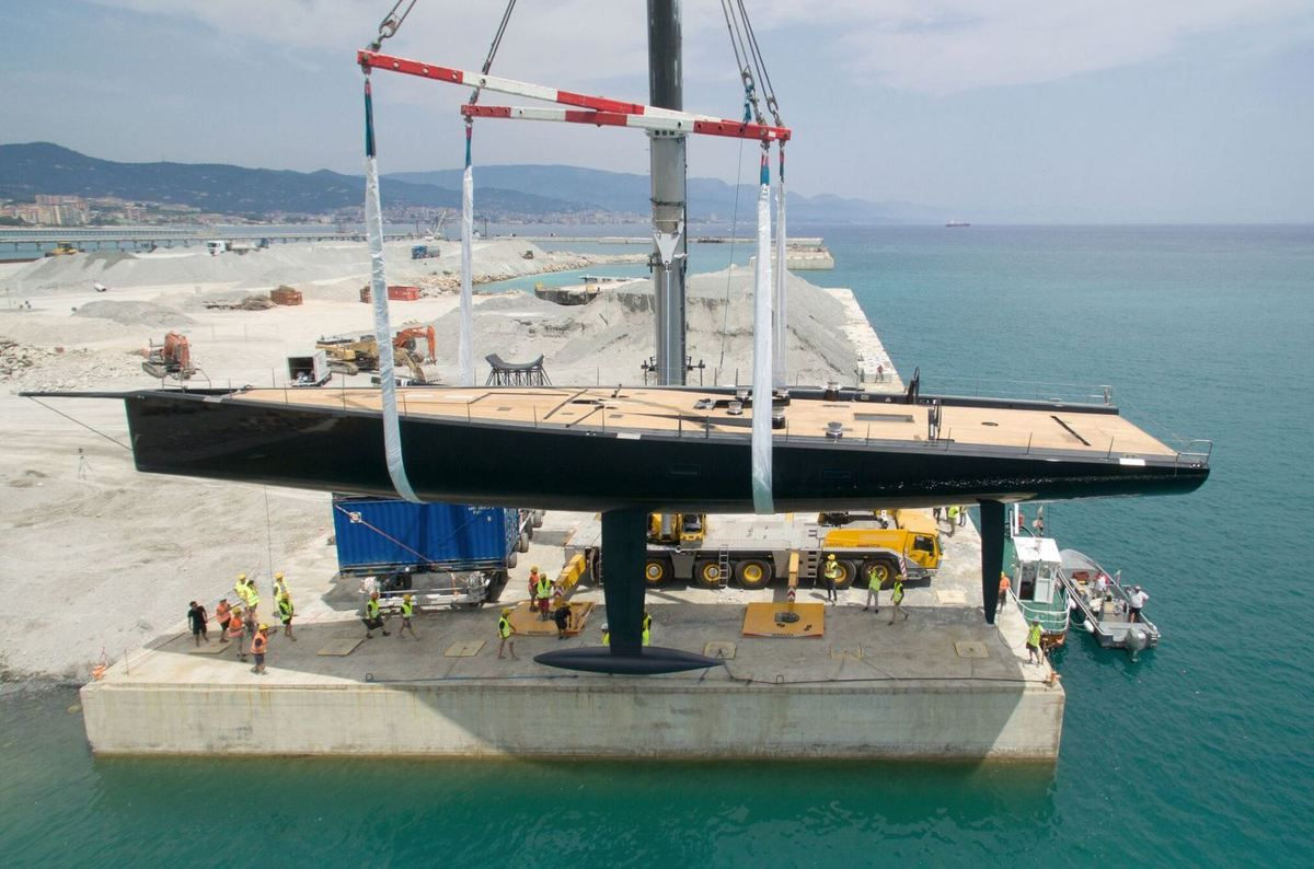 Successful Launch for Tango, latest and 4th Wallycento superyacht