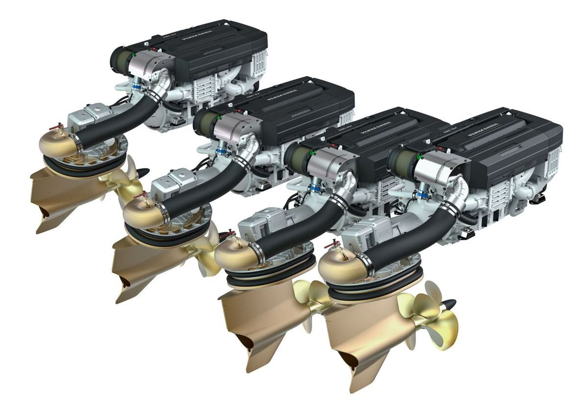 A new era in yachting with Volvo Penta, with New D13-IPS1350