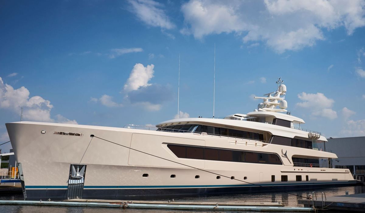 Samaya, a 69m long custom yacht by Feadship