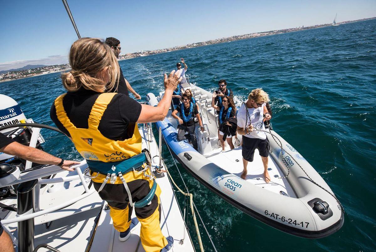 Volvo Penta's next generation gasoline engines power RIBs in the Volvo Ocean Race