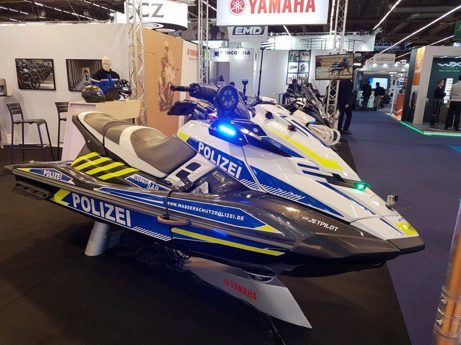 Yamaha In force at the Milipol Salon