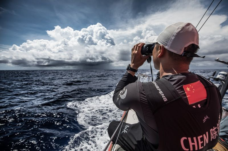 Volvo Ocean Race - Leading four within six miles approaching Solomon Islands