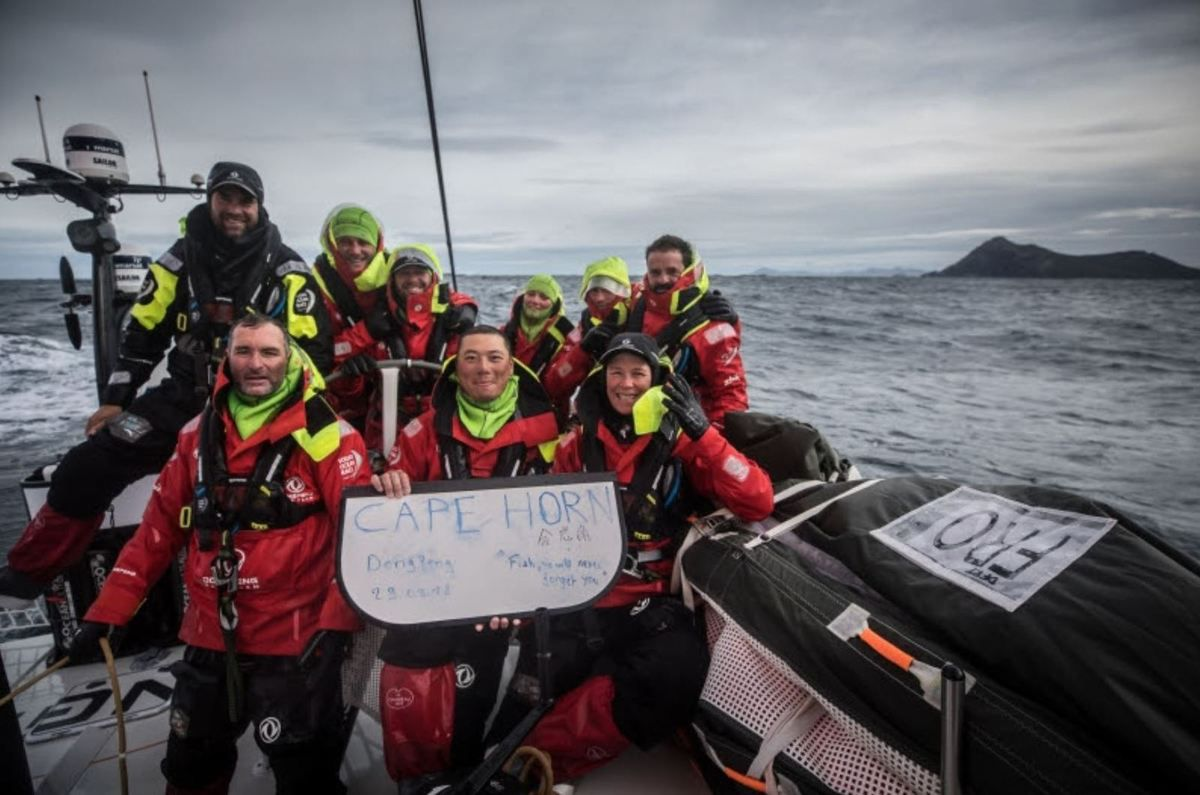 Volvo Ocean Race - MAPFRE suspends racing to deal with damaged mast track as fleet passes Cape Horn