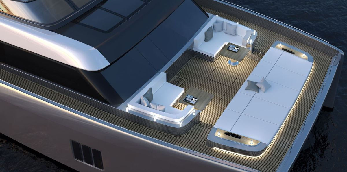 Scoop - first Shots of the Interior of the 80 Sunreef Power!