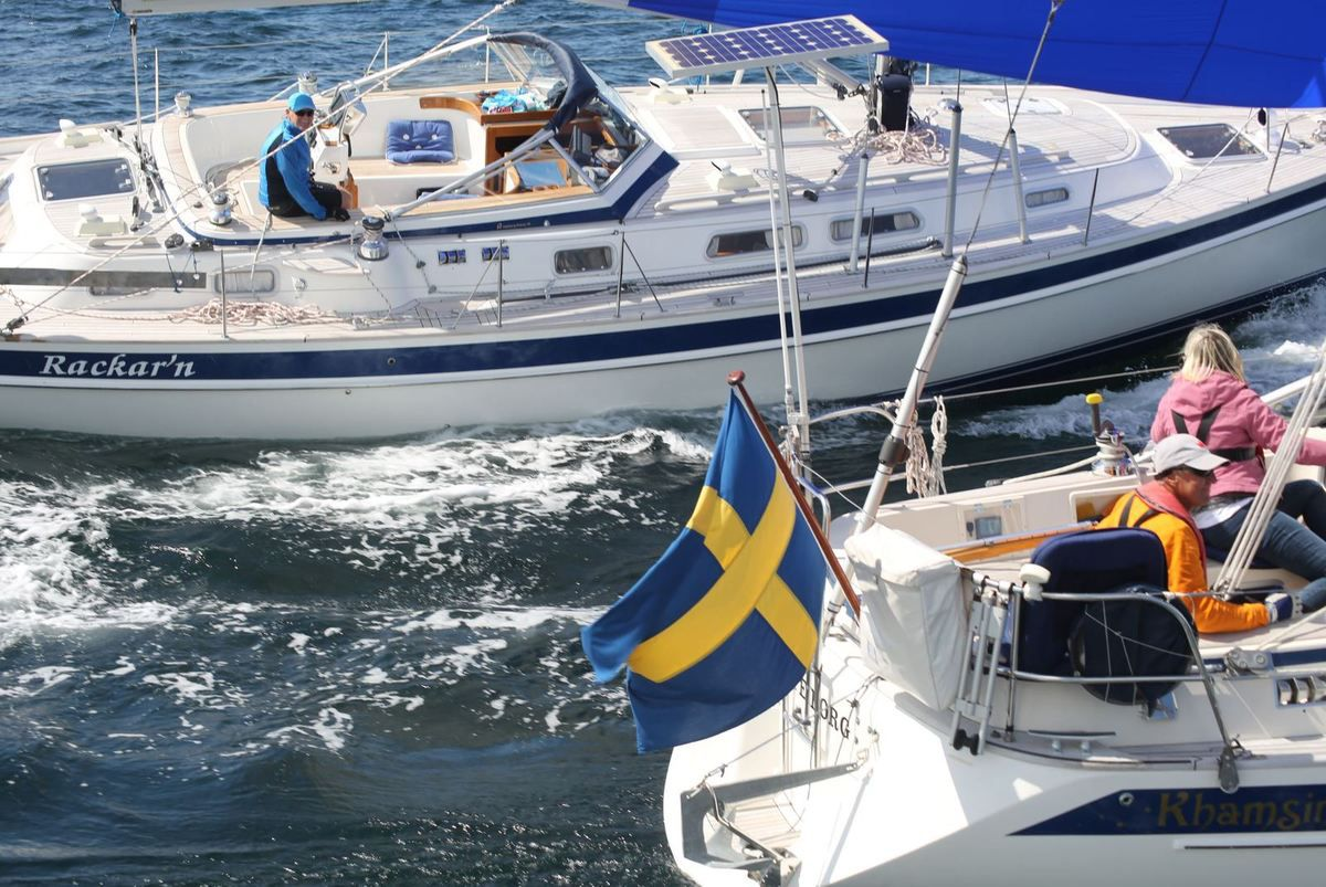 A record 43 yachts in the Hallberg-Rassy Rally where everybody wins 2018
