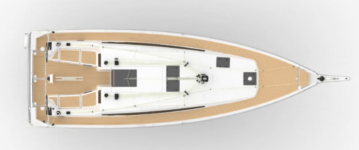 An incomparable ease of movement aboard the new Jeanneau Sun Odyssey 410