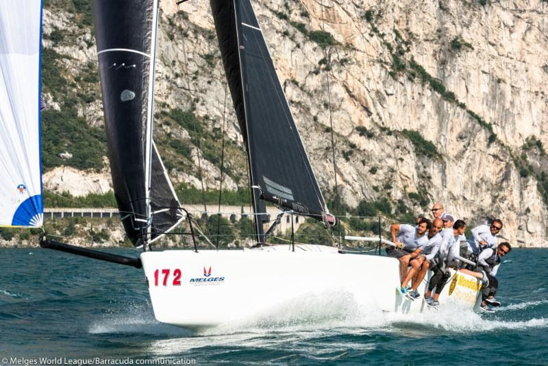 Balestrero wins his first trophy of 2018 Melges 32 World League season