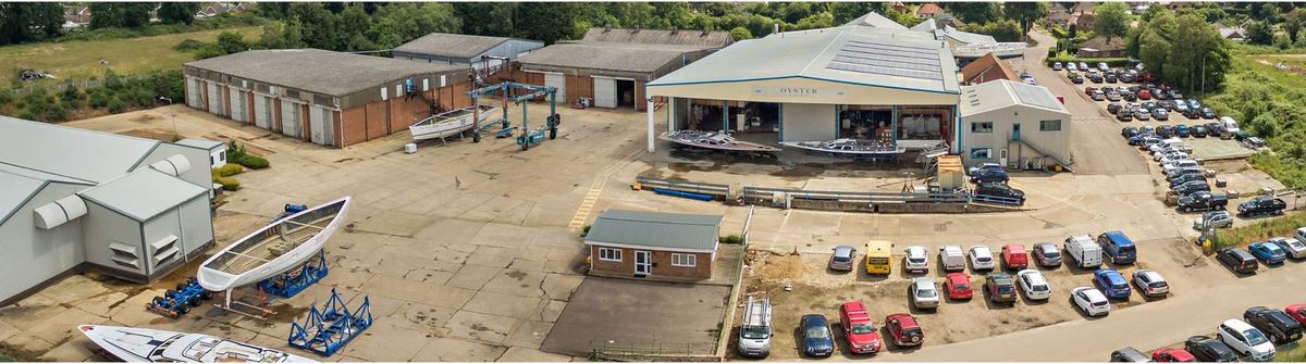 Oyster Yachts - Production restarts in Wroxham