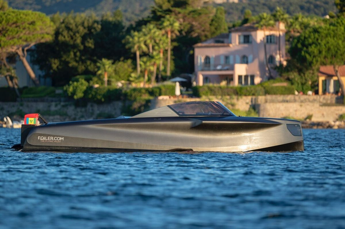 Foiler: Three design variations now available for the flying yacht