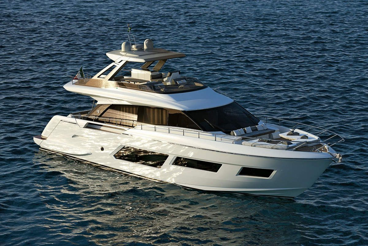 Ferretti Group at the Cannes Yachting Festival with 5 World Premières