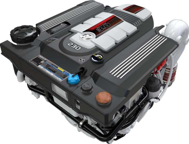 Mercury Marine unveils new line of diesel engines that improve performance in the 230-270 hp range