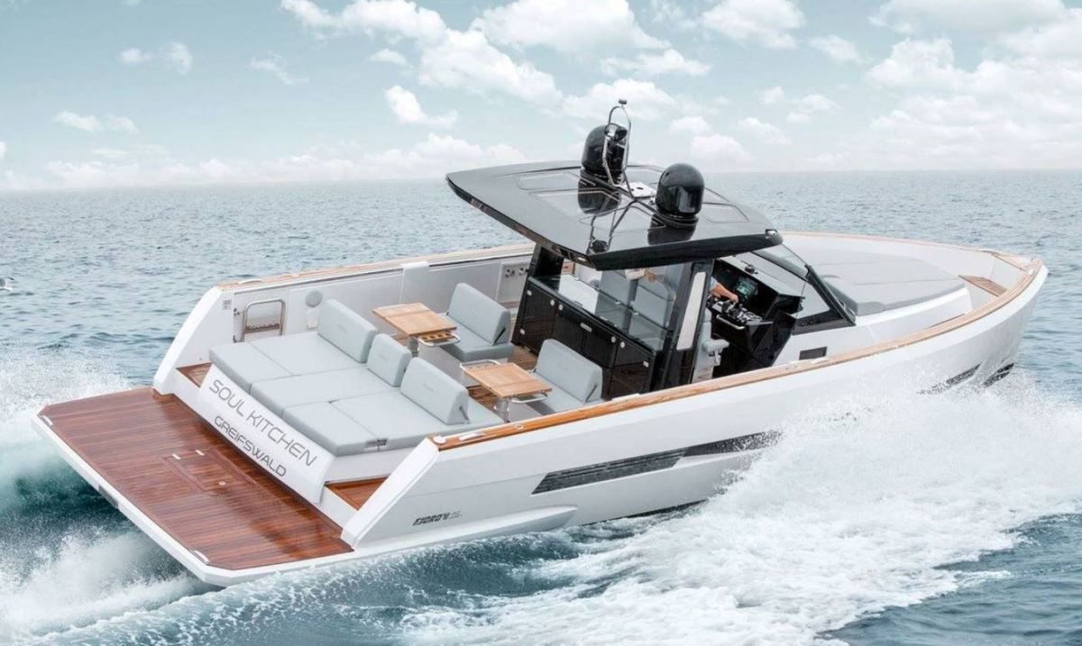 The FJORD 42 by HanseYachts