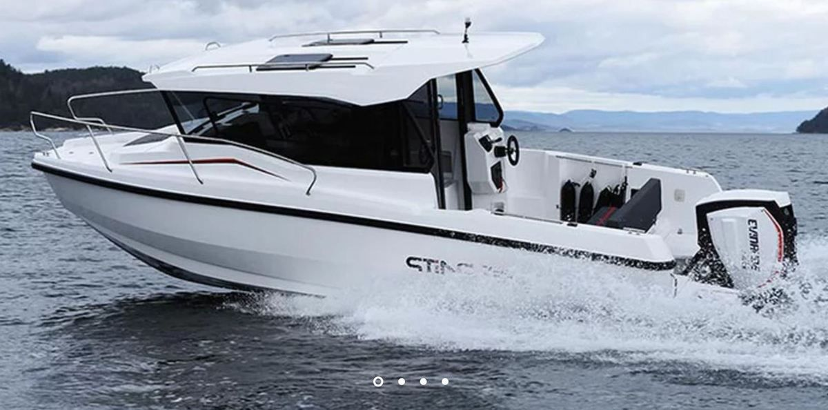 European Powerboat of the Year 2019 - Nominated - Sting 730 FT