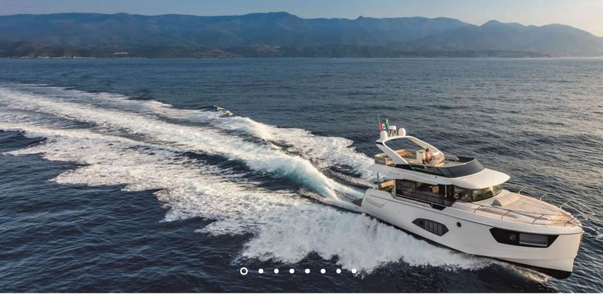 European Powerboat of the Year 2019 - Nominated - Absolute Navetta 48