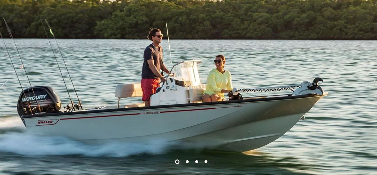 European Powerboat of the Year 2019 - Nominated - Boston Whaler 170 Montauk