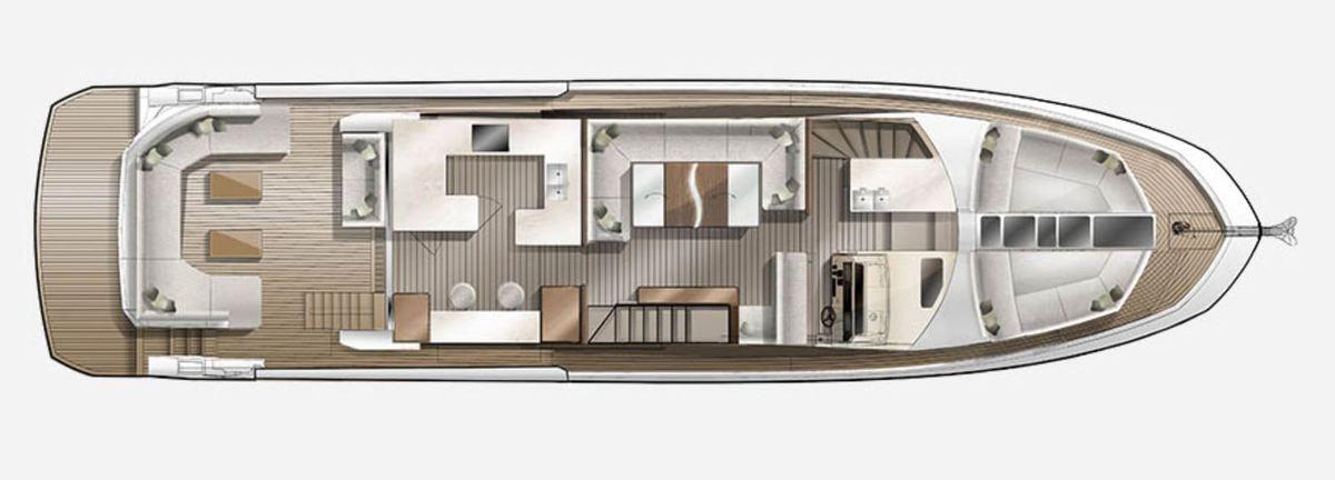 Galeon 640 Fly nominowany jako Powerboat of the Year 2019