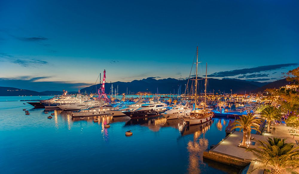 Porto Montenegro new partnership with Warsash Superyacht Academy