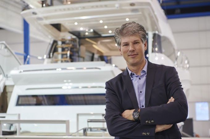 Erwin Bamps appointed as CEO of Prestige Yachts