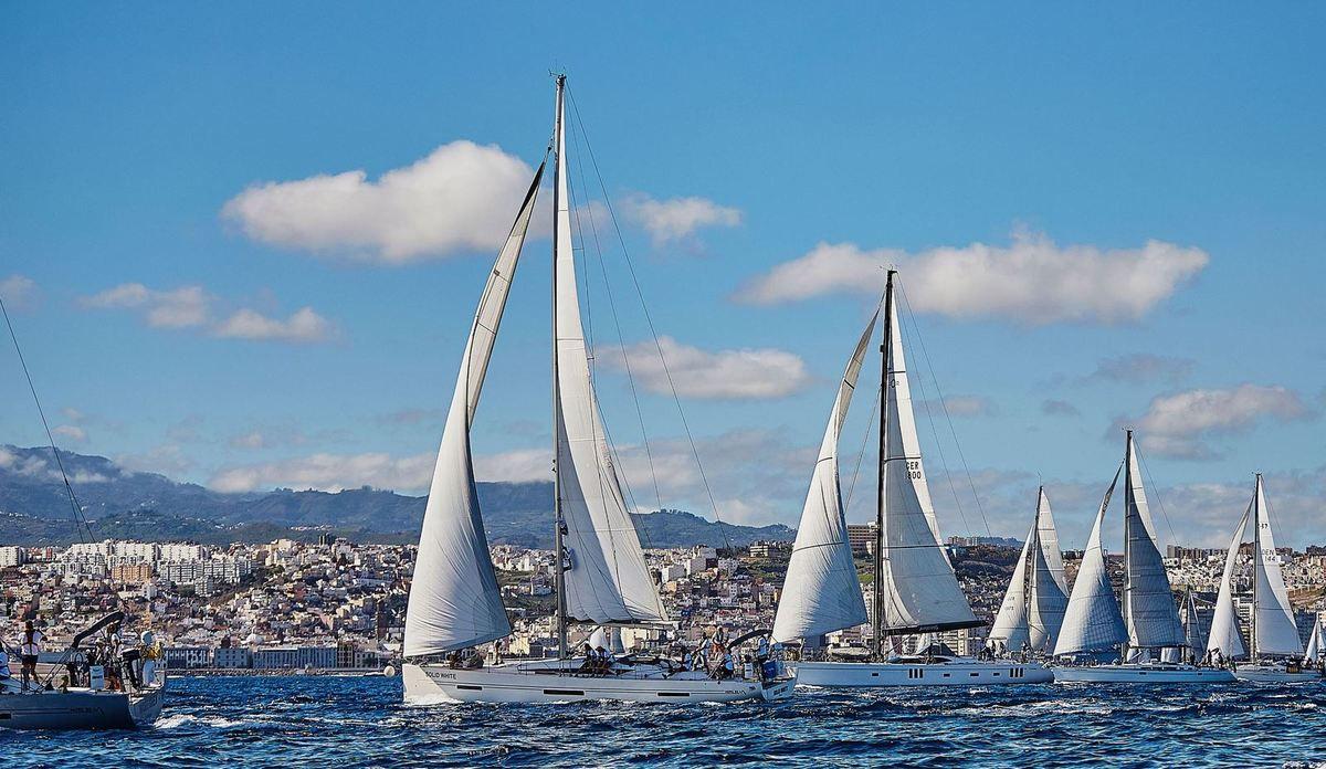 ARC 2018 sets sail from Las Palmas de Gran Canaria