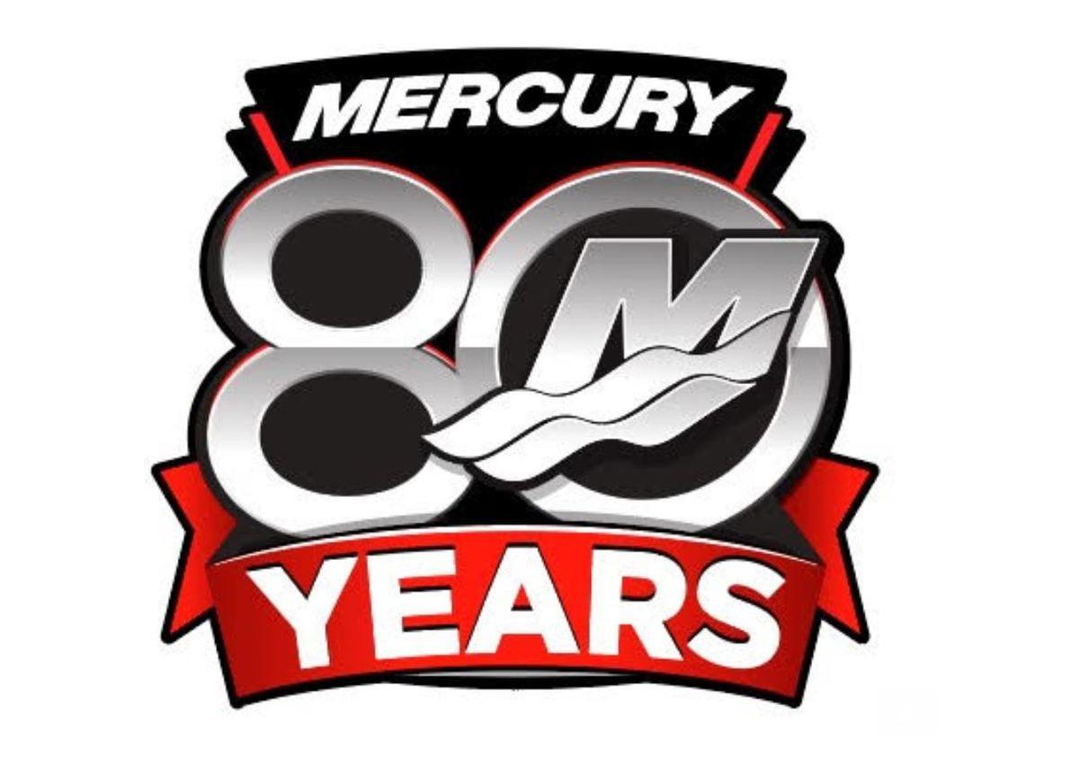 Nel 2019 Mercury Marine festeggia il suo 80° anniversario