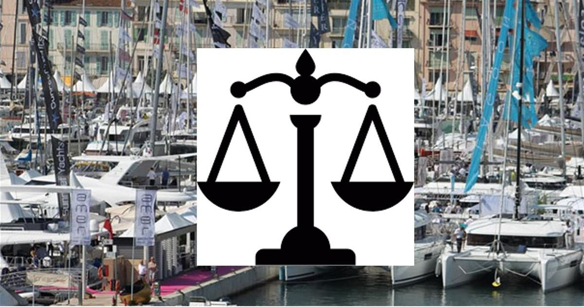 Ownership and organization of the Cannes Yachting Festival - justice gives reason to FIN against REED
