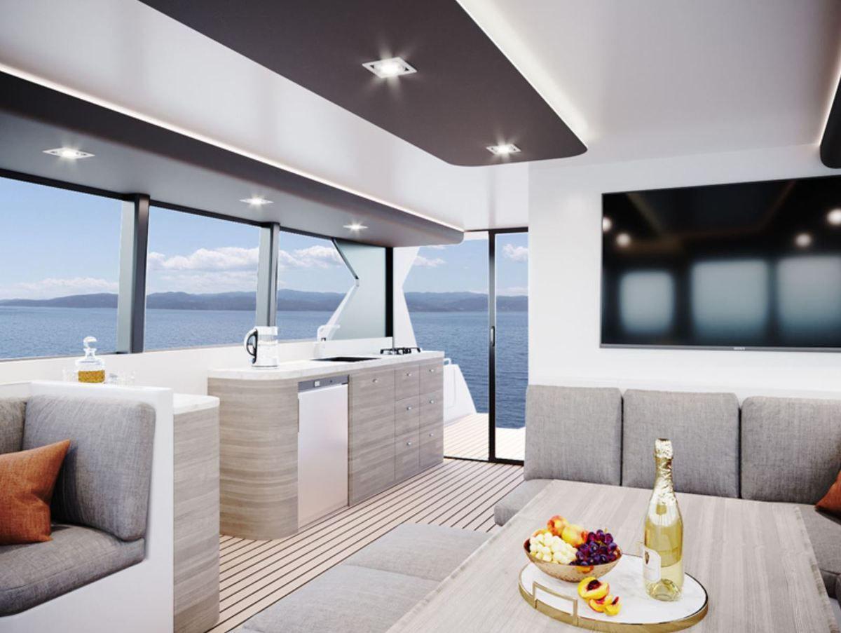 Pacifico Cruise 120, круизный катамаран, построенный в России