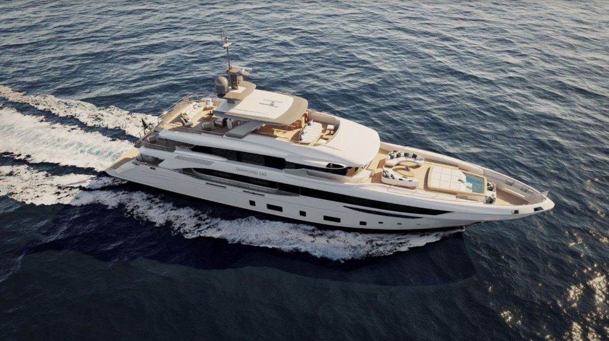 Benetti announces the sale of Diamond 145 first unit