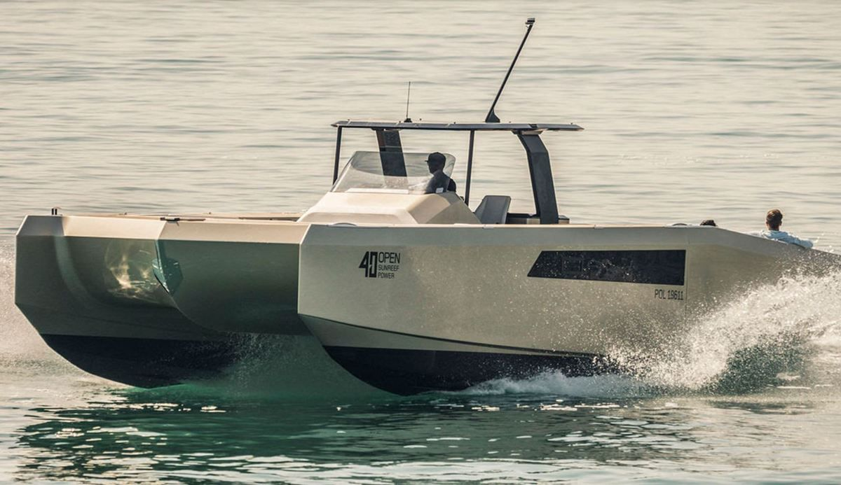 40 Open Sunreef Power as a Guest Star of the Dubai International Boat Show 2019