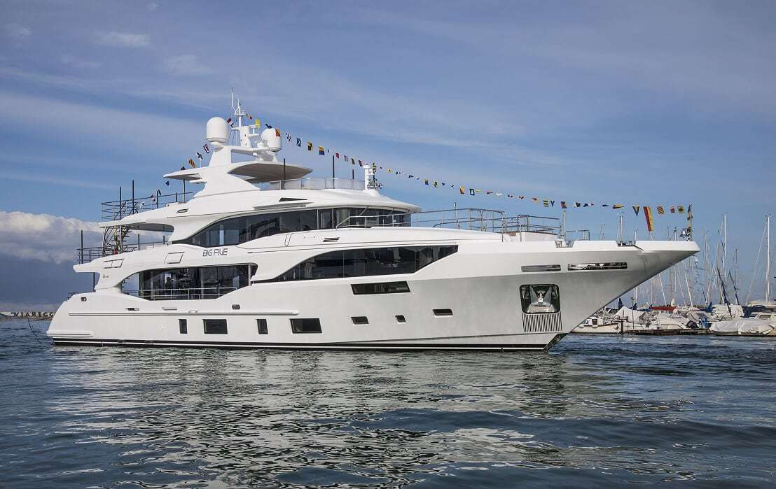 Benetti launches three yachts in the Class category