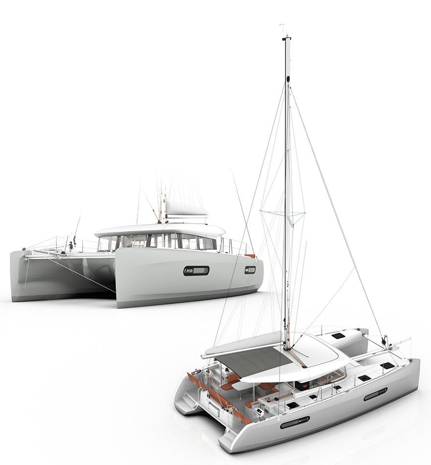 Multihulls - First visuals of the Excess 12 front deck and cockpit