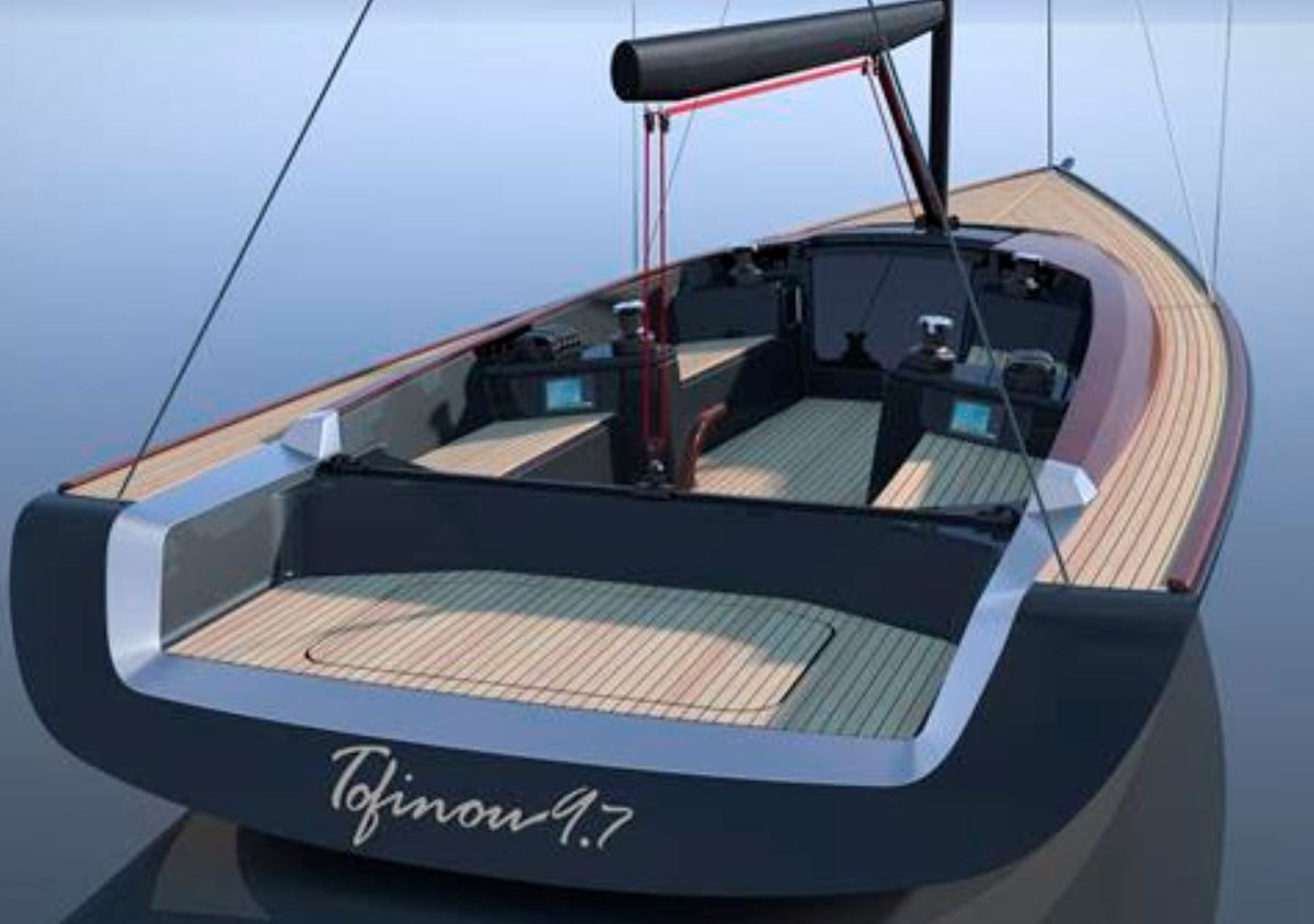 Tofinou 9.7, a new dayboat imagined with the Peugeot Design Lab