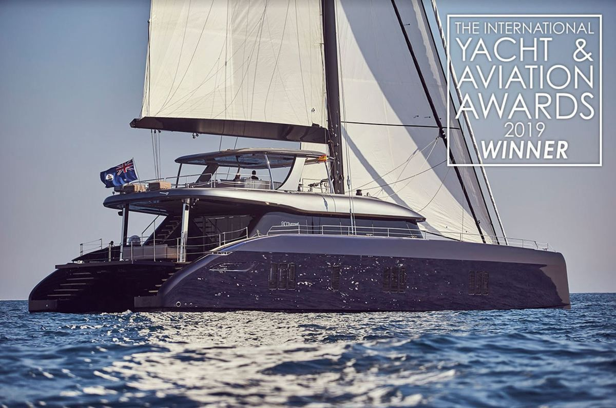 Sunreef 80 Voted as Best Sailing Yacht at the Yacht and Aviation Award 2019