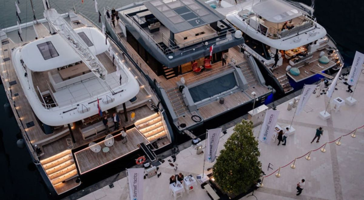 The Sunreef Yachts Lounge officially inaugurated in Porto Montenegro