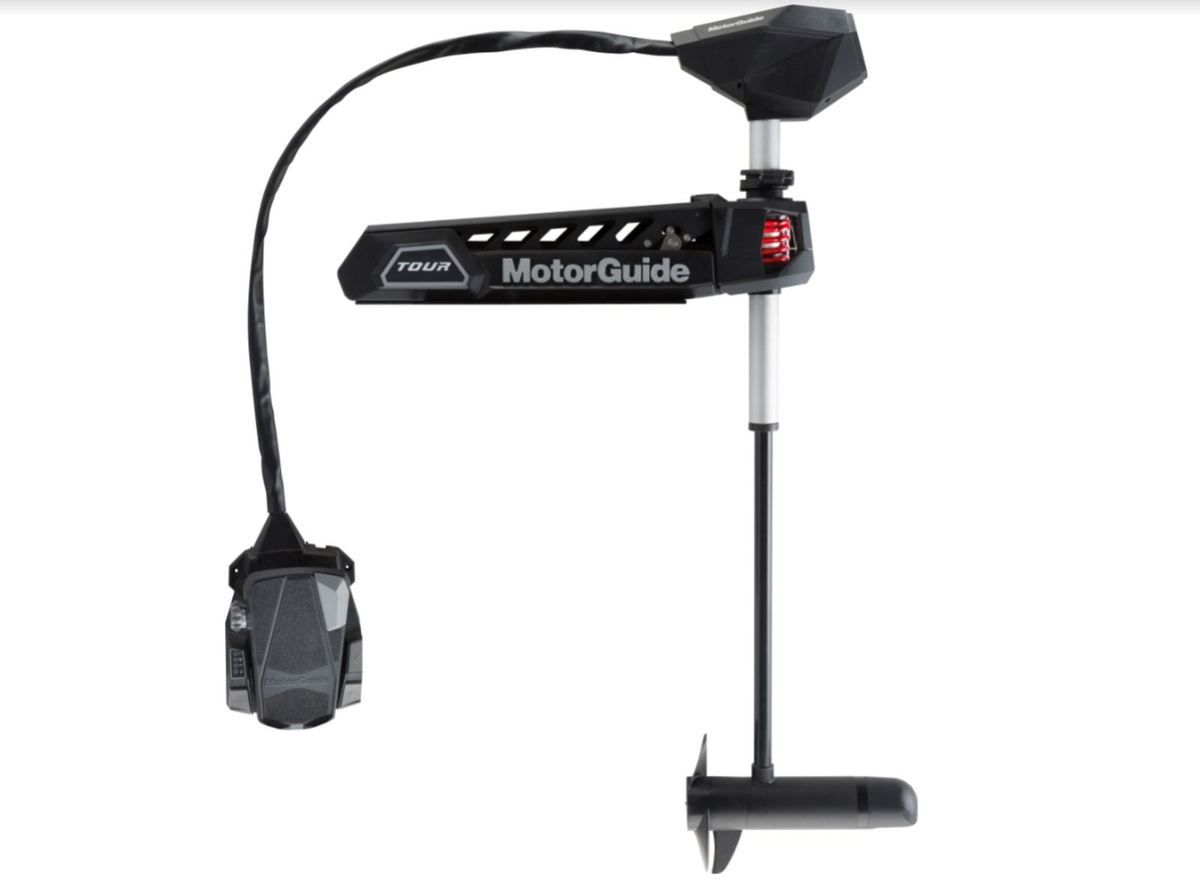 Motorguide launches the first cable steer motor with GPS anchor