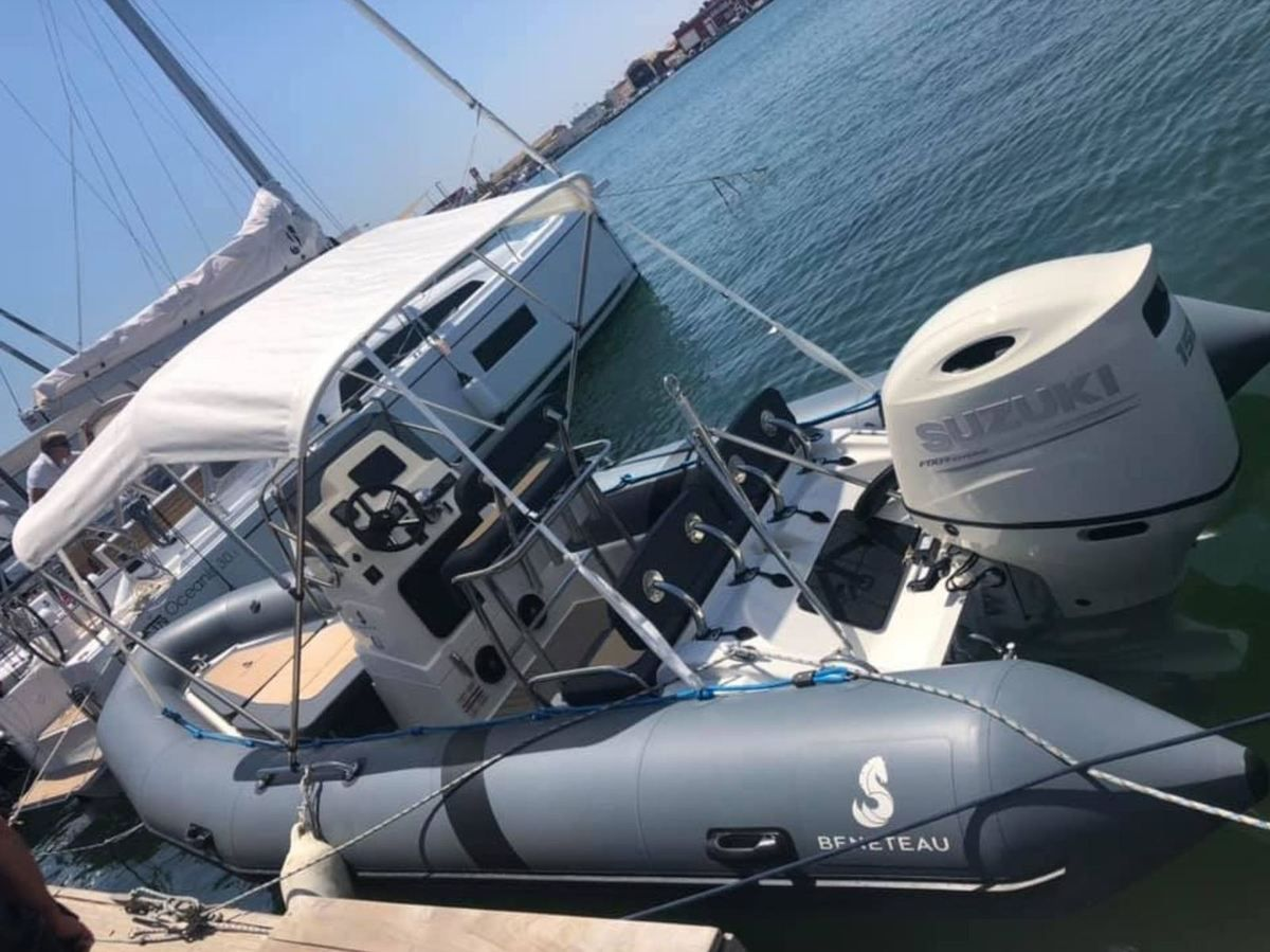 Rigid Inflatable Boat Beneteau SR 650