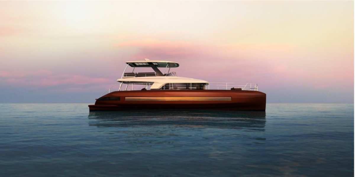 Scoop - first photos of Lagoon Sixty 7, Lagoon's new motoryacht!