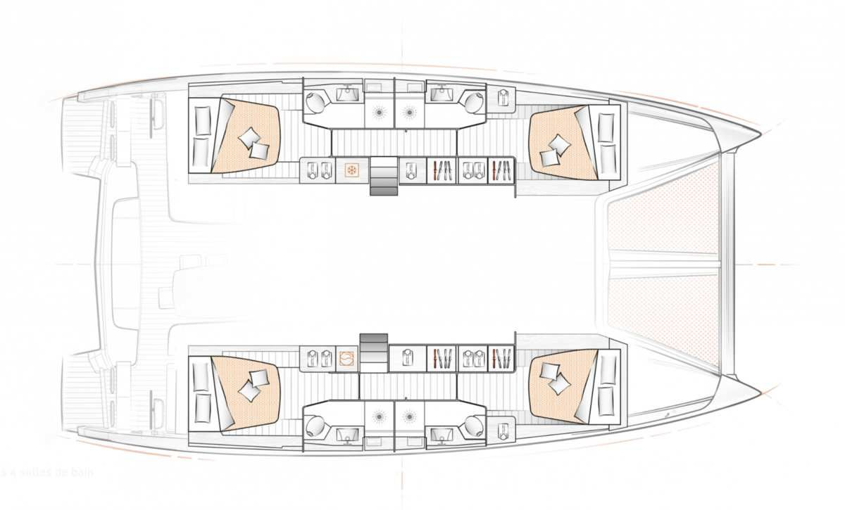 Excess 15 - first photos of the new catamaran of the Beneteau Group
