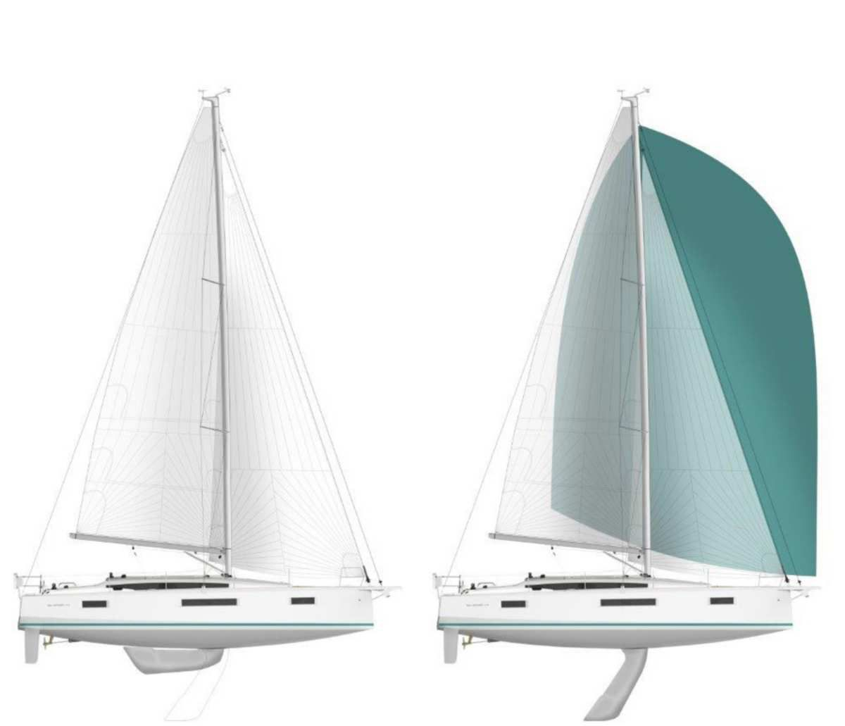 New - a swing keel for the Jeanneau Sun Odyssey 410