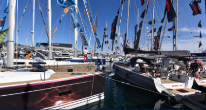 Cannes Yachting Festival : The new sailing area at Port Canto