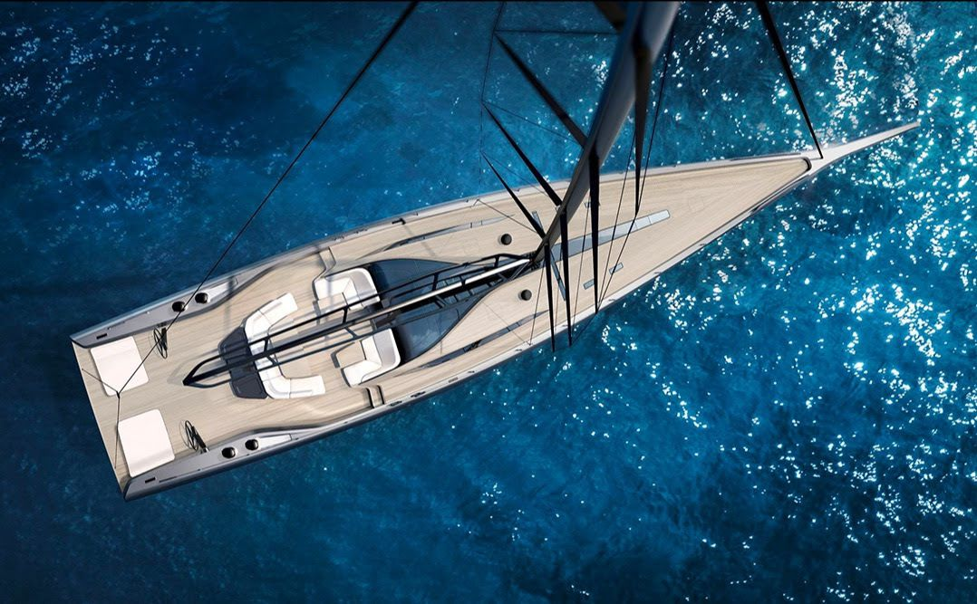 Wally unveils new 101-foot high performance sailing sloop at 2019 Cannes Yachting Festival