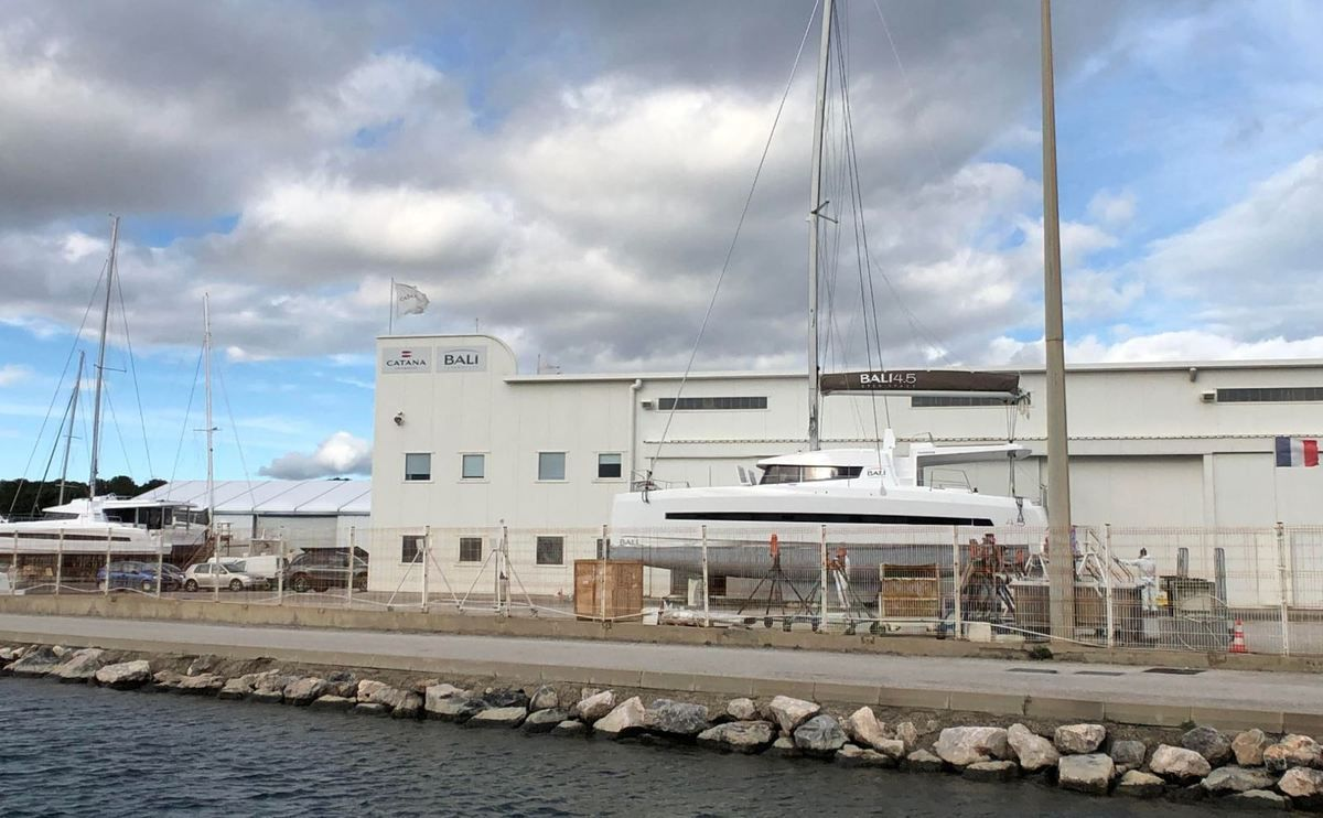 Multihulls - more than 100 million euros of turnover for Catana Group in 2019-2020