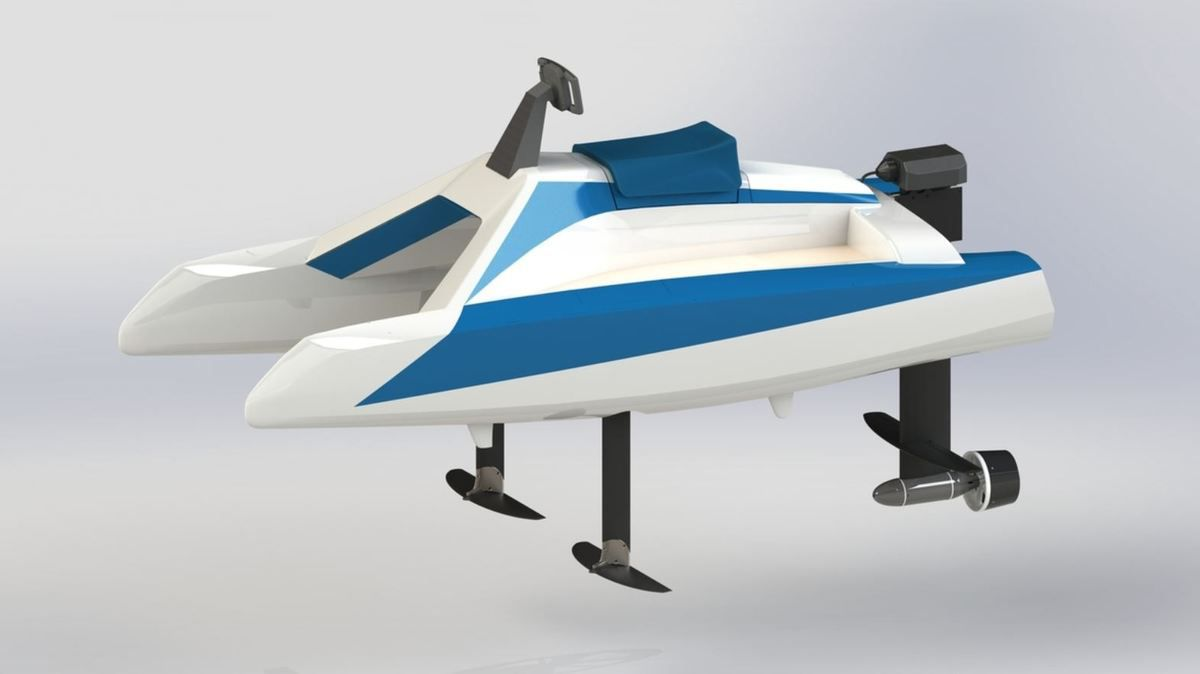 Nautic 2019 - with the Overboat, Neocean reinvents the sea scooter