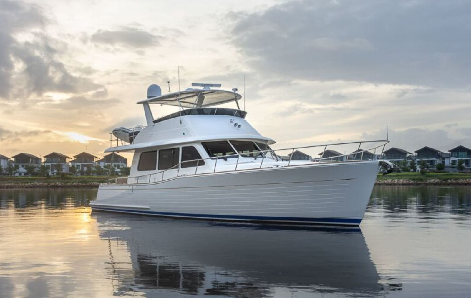 Grand Banks 54 unveiled at the 2020 Palm Beach International Boat Show